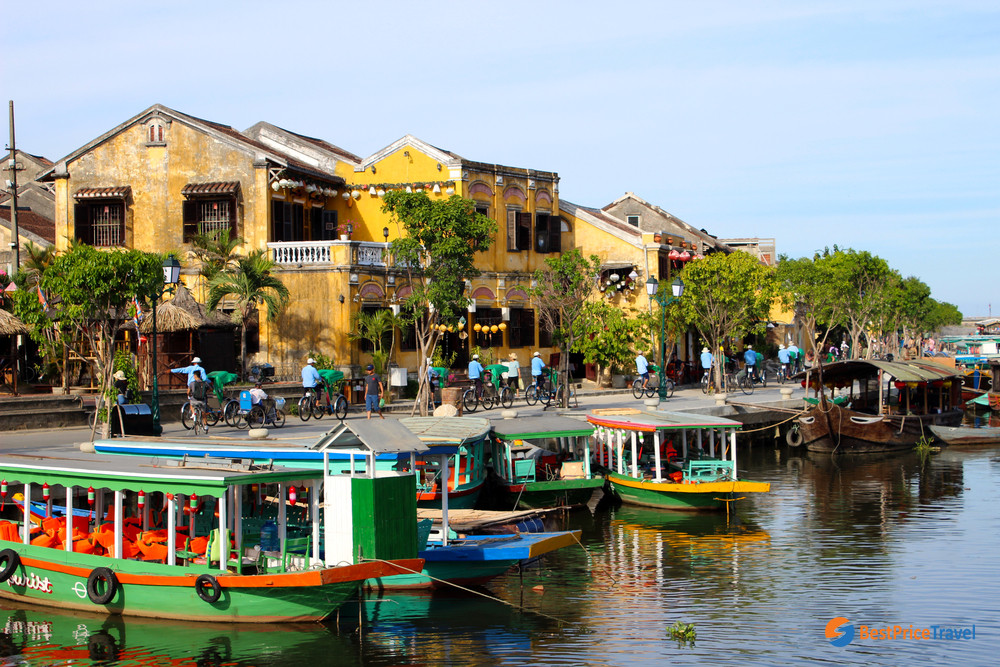 Boat Dock in Hoi An Town