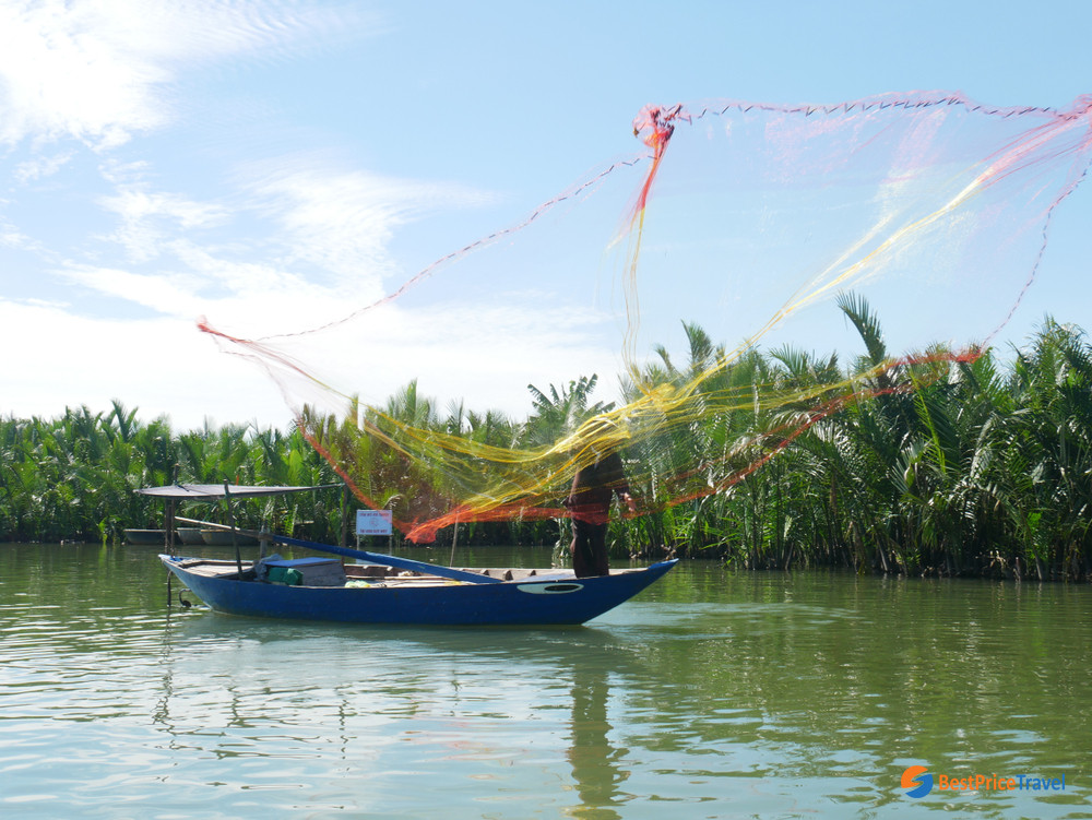 Fishing in Cam Thanh