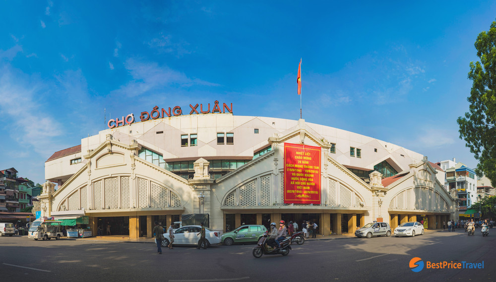 Dong Xuan Market overview