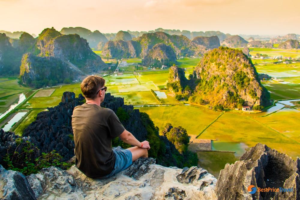 Beautiful View of Mua Cave