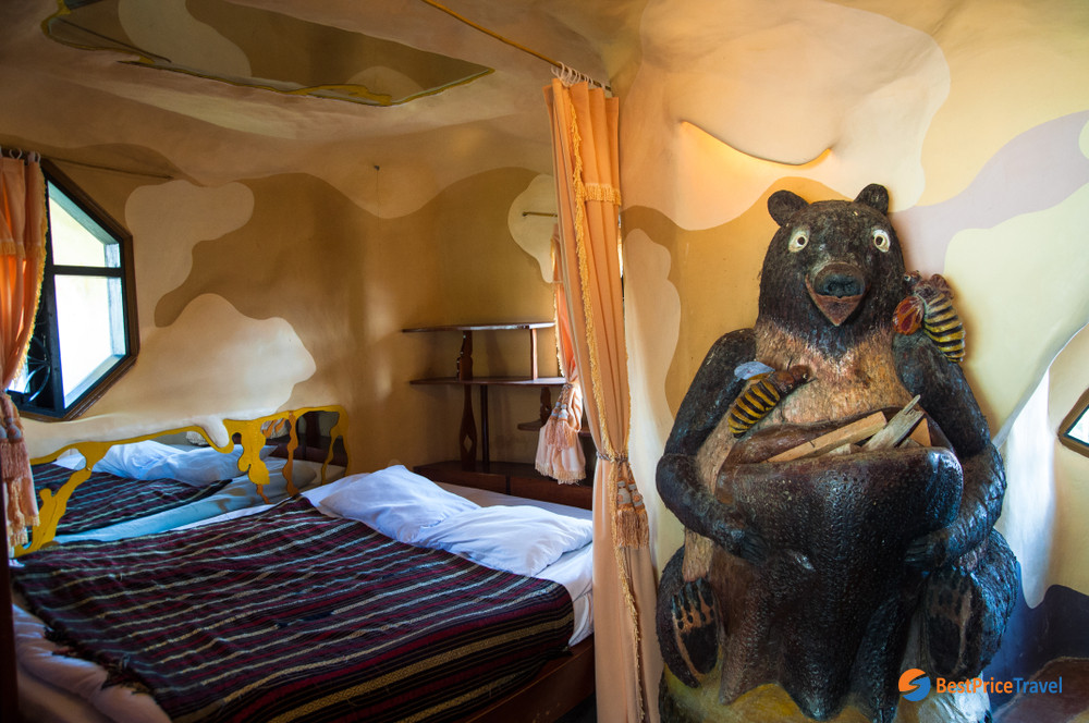 A room in Crazy House