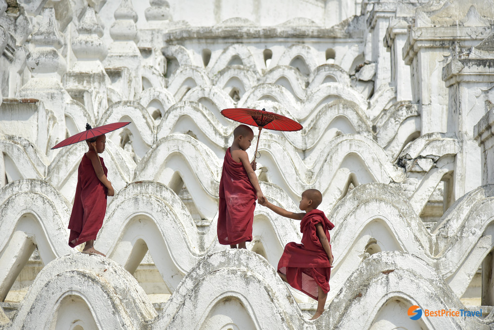 Monks in Mandalay