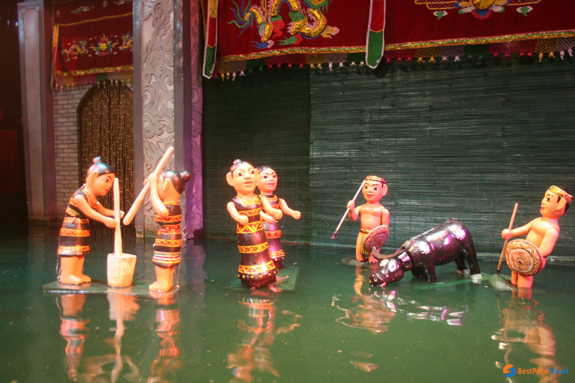 Water Pupet