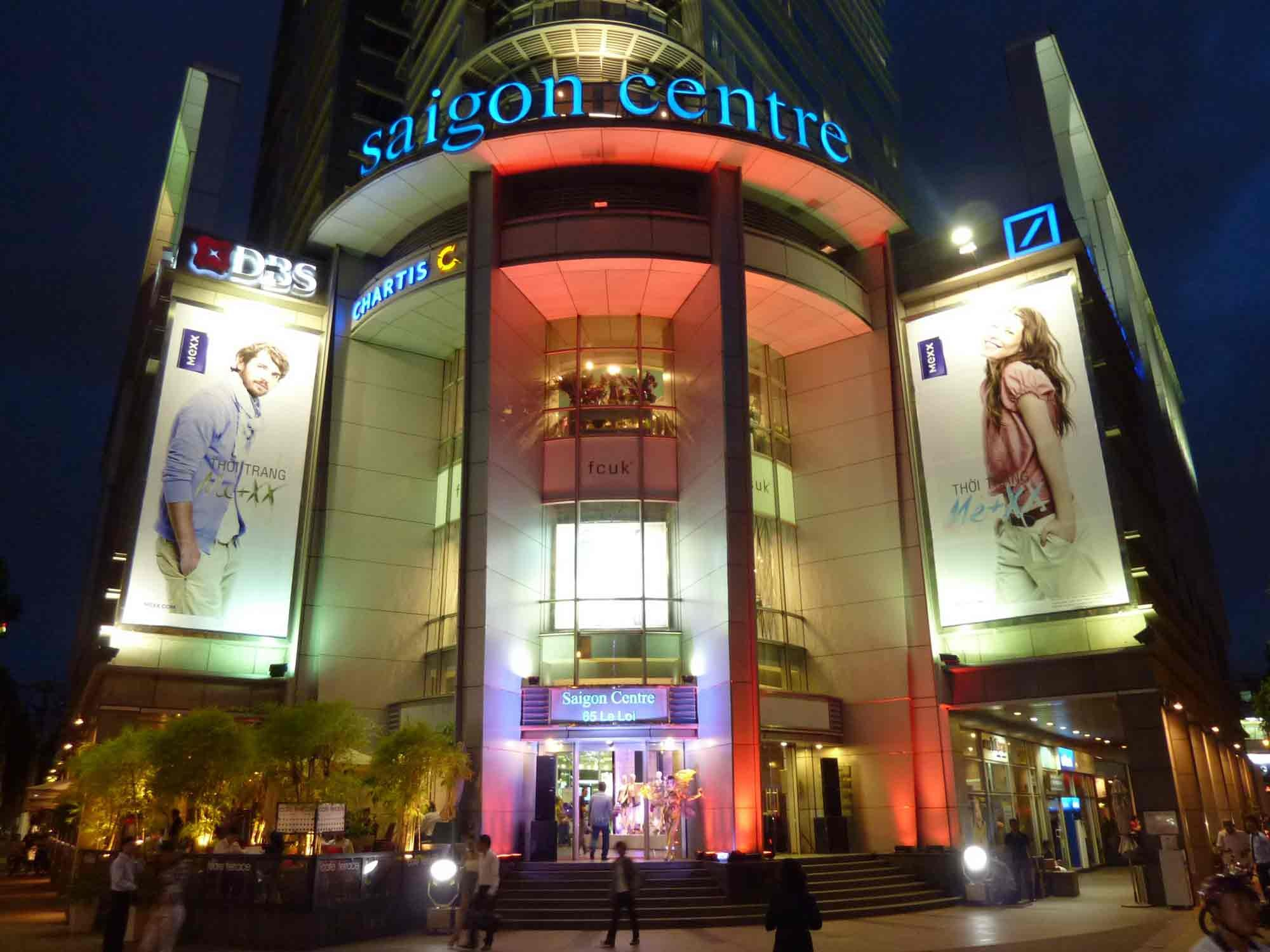 Shopping center in Ho Chi Minh