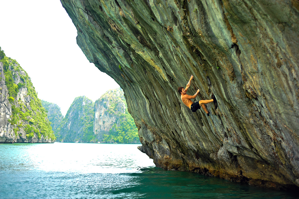 Halong is a great place for adventuring