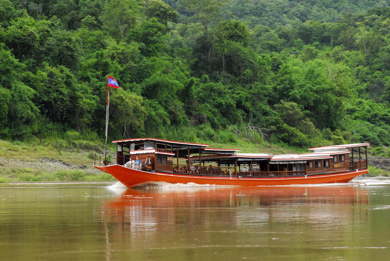 Cruising in Mekong River - Laos Part