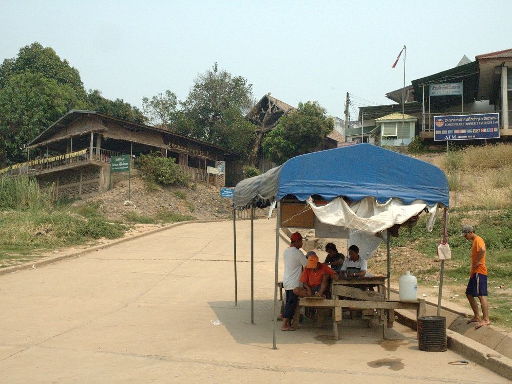 Huay Xai Lao Immigration