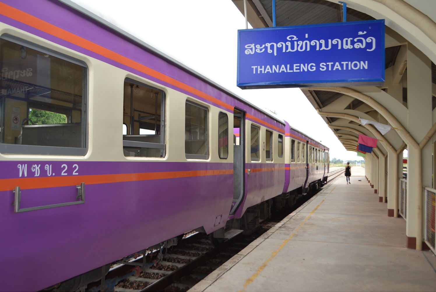 Travel to Laos by train