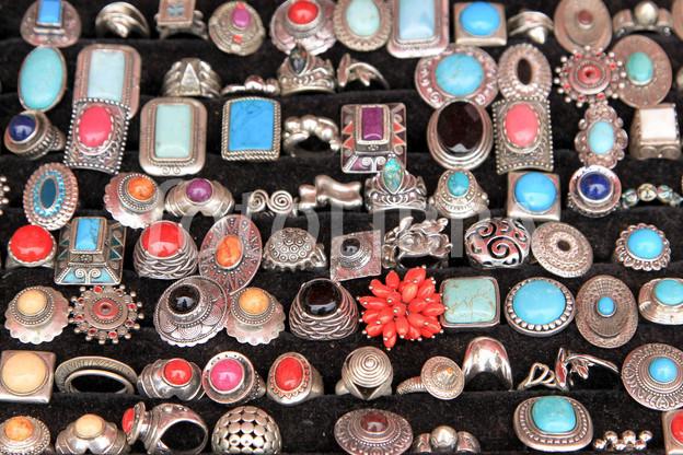 Colorful jewelries