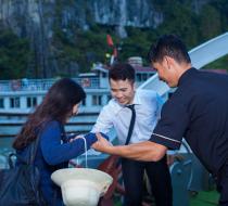 0016866 Alova Premium Cruises Halong Bay 1 Day Group Tour