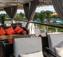 Heritage Line Mekong Jayavarman Funnel Bar & Lounge 2