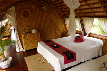 Song Xanh Sampan cabin