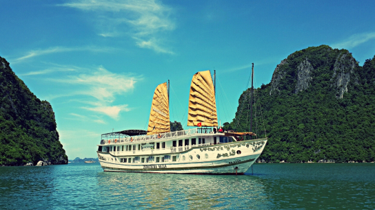 Indochina Sails - No 12 Halong Bay Family Cruises