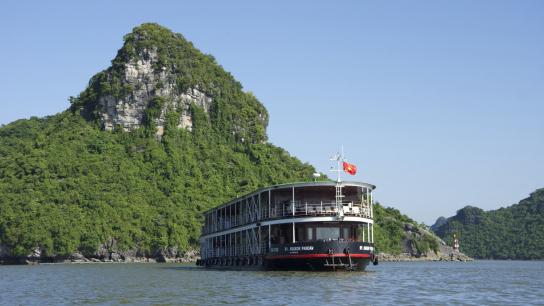 Pandaw Halong Cruise - No 21 Halong Bay Luxury Cruises