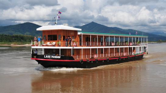 Pandaw Laos Cruise - No 3 Mekong River Cruise Laos