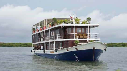 Toum Tiou II Cruise - No 13 Vietnam Cambodia Cruises