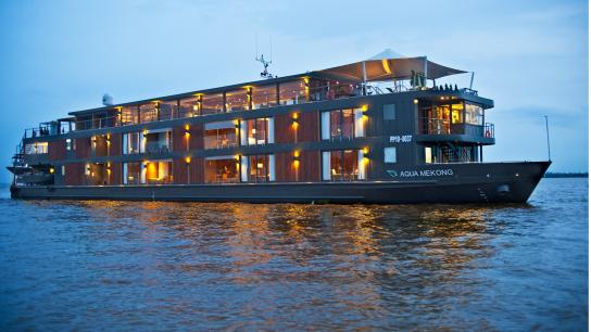 Aqua Mekong Cruise - No 11 Vietnam Cambodia Cruises