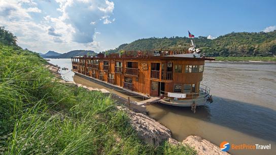 Mekong Pearl Cruise - No 6 Mekong River Cruise Laos