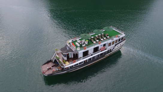 Legend White Dolphin Cruise - No 16 Halong Bay Small Boat Cruises