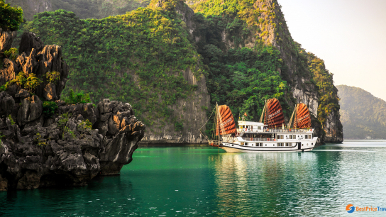 Aclass Legend Cruise - No 3 Budget Halong Bay Cruises