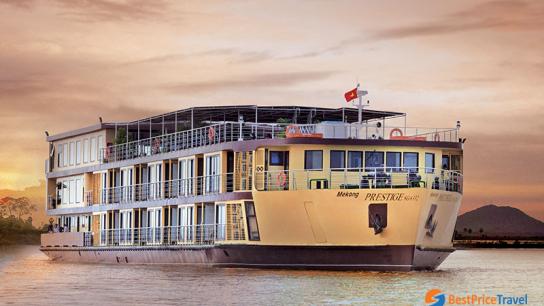 RV Mekong Prestige II Cruise - No 2 Vietnam Cambodia Cruises