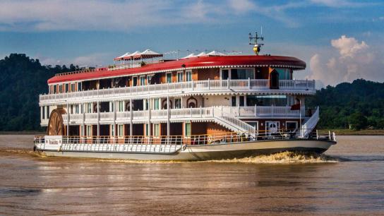 Heritage Line Anawrahta Cruise - No 1 Myanmar Luxury Cruises
