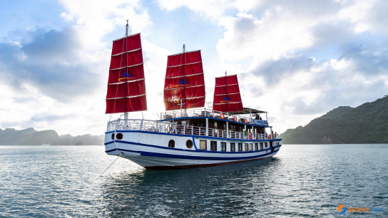 Amazing Sails - No 5 Halong Bay Day Cruises