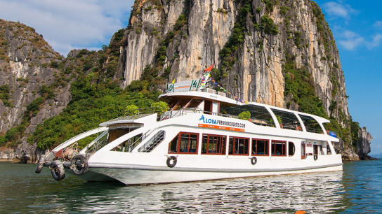 Alova Premium Cruise - No 10 Halong Bay Day Cruises