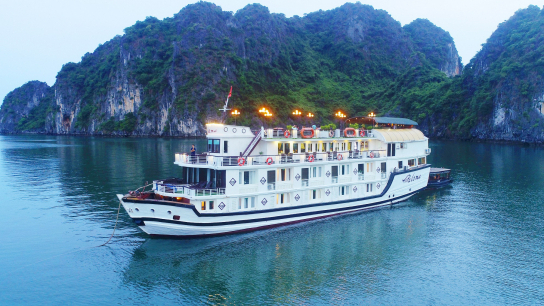 Paloma Cruise - No 3 Halong Bay Family Cruises