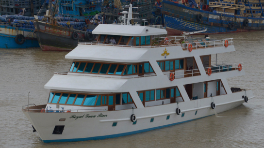 Royal Green River Princess Cruise - No 1 Myanmar Day Cruises