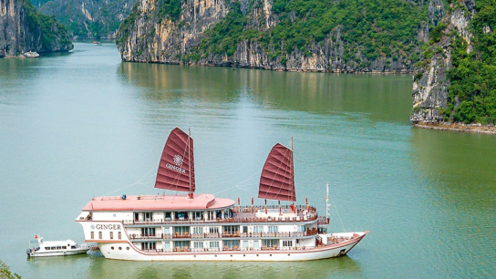 Heritage Line Ginger Cruise - No 9  Lan Ha Bay Cruises