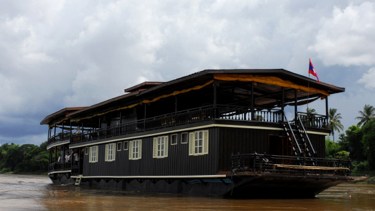 Vat Phou Cruise - No 4 Mekong River Cruise Laos
