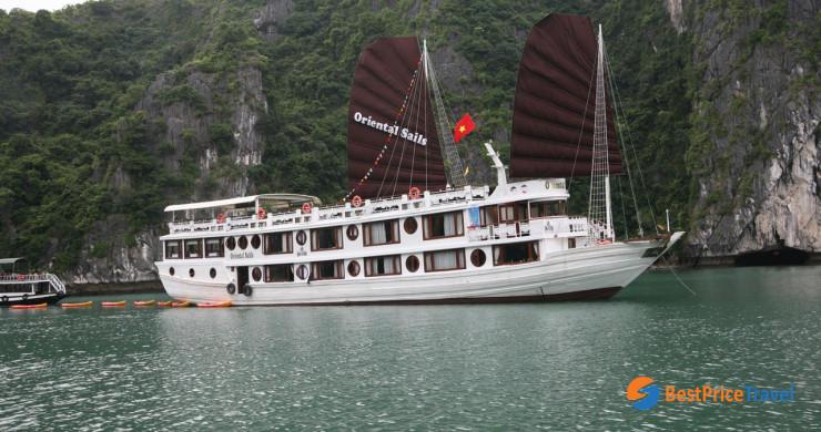 Oriental Sails Cruise Halong Bay