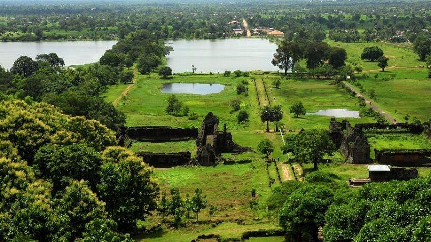Scenery on Mekong River