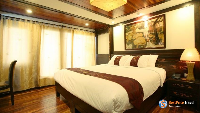 Indochina Sails Suite Cabins