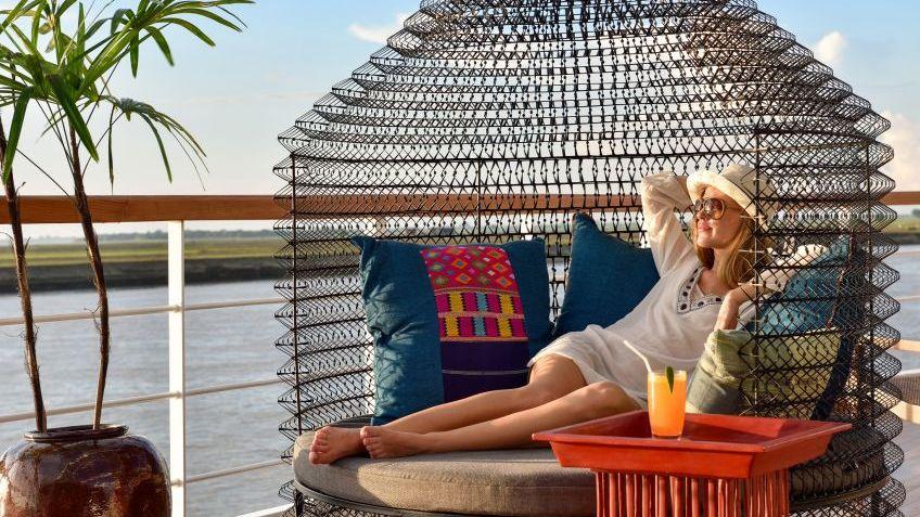 Sun Deck Sunset Cocktail