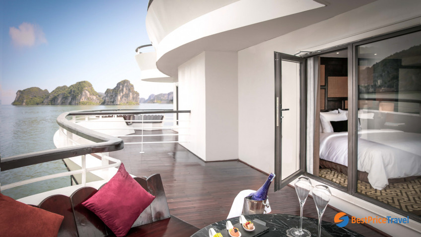 President Cruises Cabinet Suite