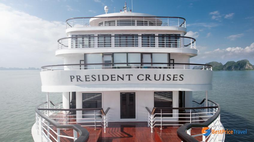 President Cruises Exterior 1