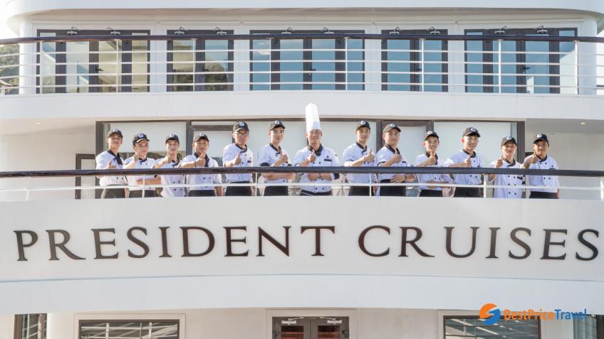 President Cruises Staff 1