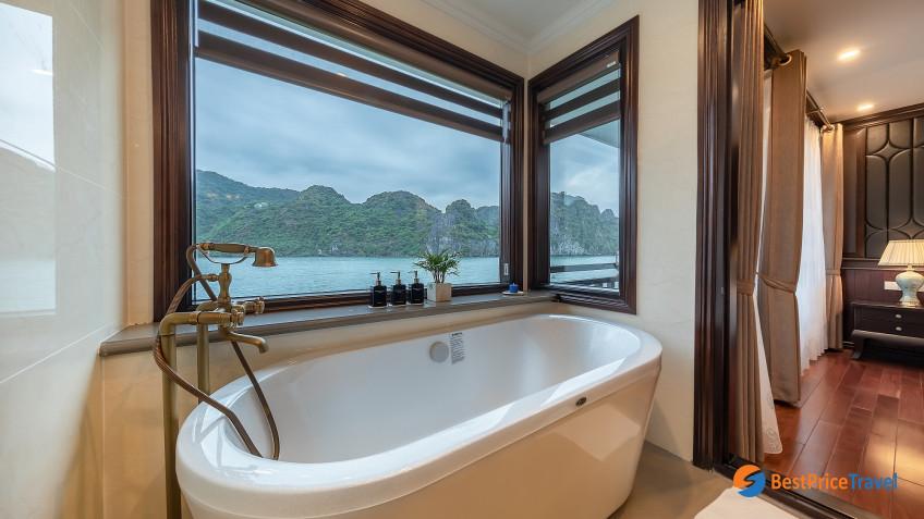 Bathtub In Suite