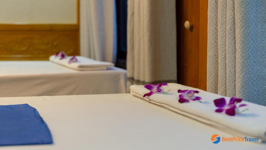 Amazing Sails Luxury Spa Room