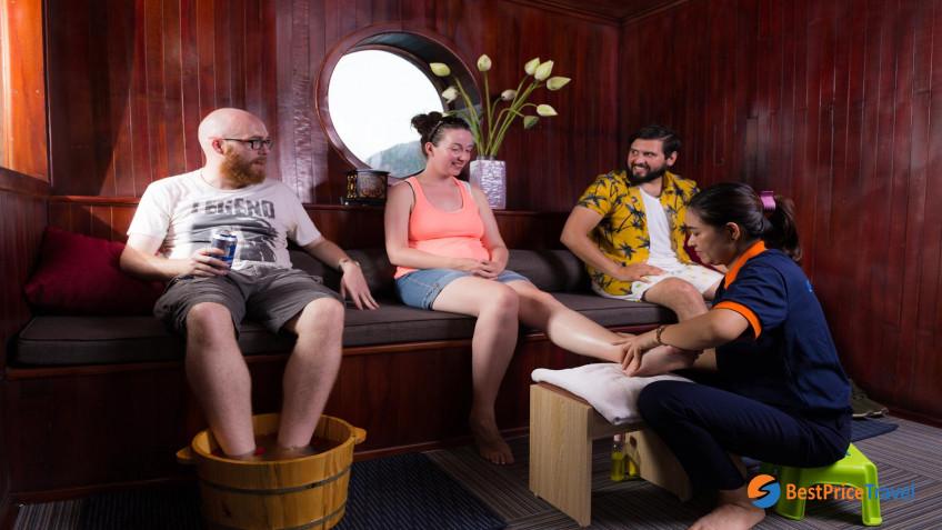 Amazing Sails Foot Massage 2