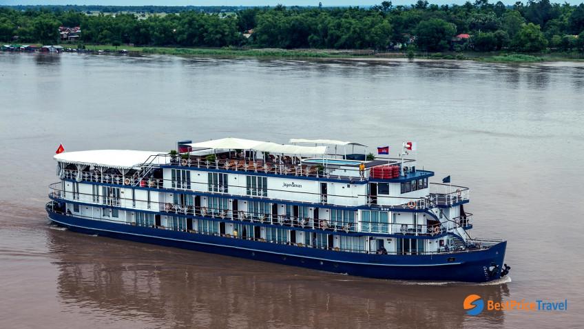 Heritage Line Mekong Jayavarman Ship 4