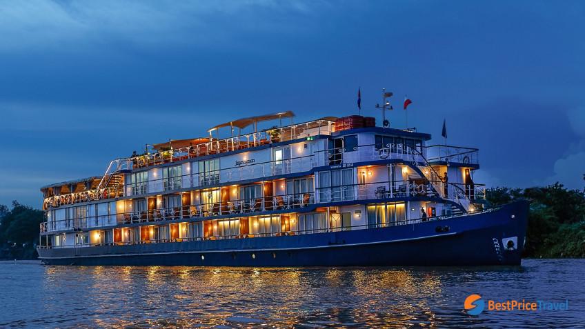 Heritage Line Mekong Jayavarman Ship 5