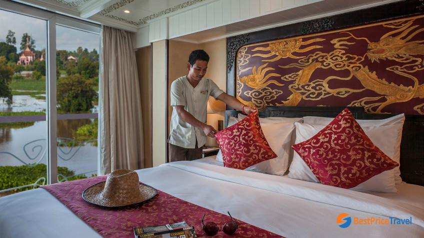 Heritage Line Mekong Jayavarman Signature Suite Bao Dai
