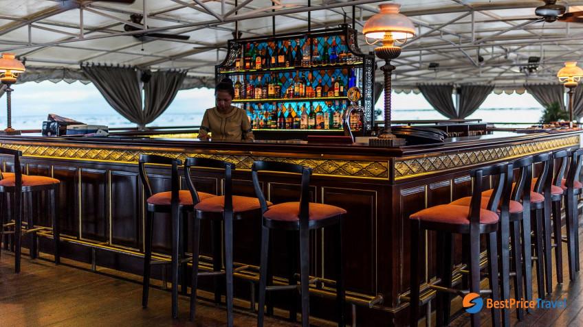 Heritage Line Mekong Jayavarman Funnel Bar & Lounge 1