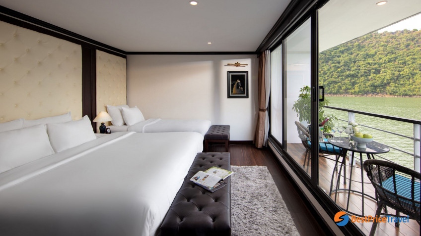 Ocean Suite Balcony Triple
