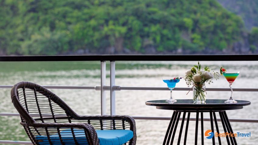 Elegance Suite Balcony Balcony