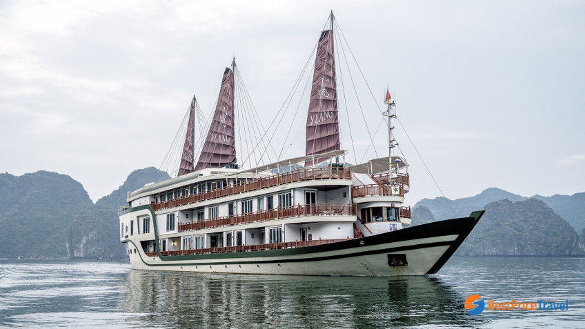 Heritage Line Lan Ha Bay Ylang Ship