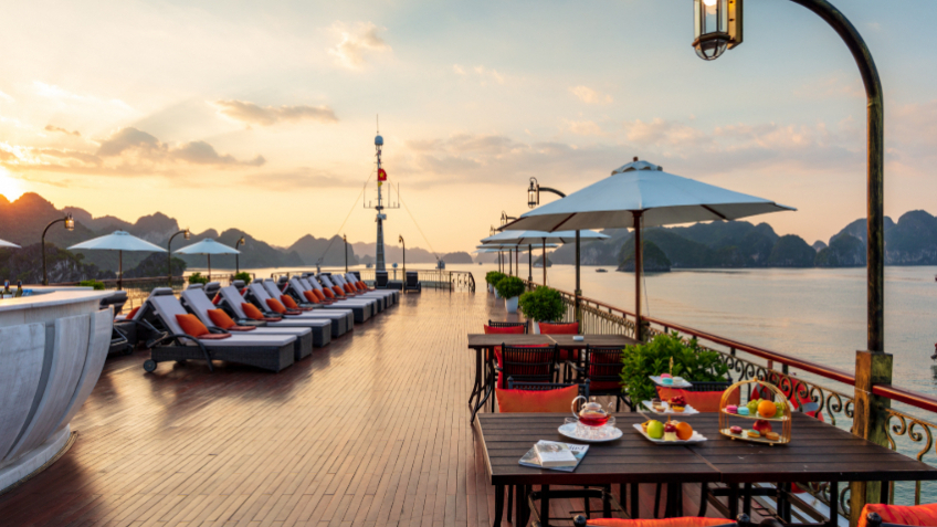 Indochine Cruise Sundeck